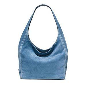 Michael Kors Lena Large Suede Shoulder Bag-